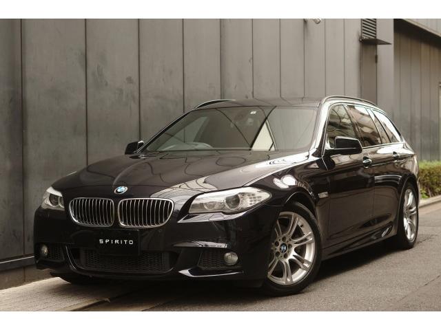 BMW 523iツーリング Mスポーツパッケージ M純正18インチ ルーフレールブラック