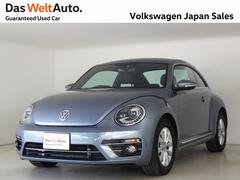 VW ザ・ビートルデザイン ブラックレザー内装 純正ナビ 認定中古車