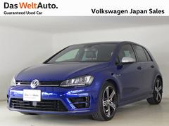 VW ゴルフRブラックレザー 純正ナビ ワンオーナー 認定中古車