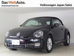 VW ザ・ビートル・カブリオレベージュレザー