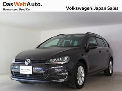 VW ゴルフヴァリアントラウンジ350台限定車 専用色 ACC ナビ 認定中古車