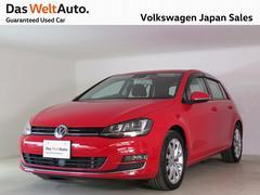 VW ゴルフTSIハイライン ACC スマートキー ナビカメラ認定中古車