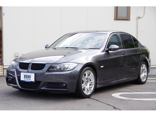 BMW 3シリーズ 320i Mスポーツパッケージ ETC スマートキー HDDナビ 電動シート HIDヘッドライト