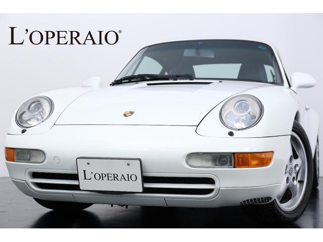 ポルシェ 993カレラ クーペII 1オーナー 本皮ステアリング