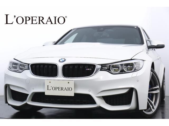 BMW M3セダン M-DCTドライブロジック ワンオーナー
