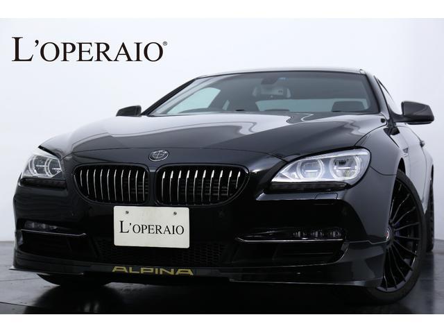 BMWアルピナ ビターボクーペ D車 右H ゴールドデコライン サンルーフ