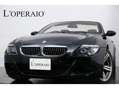 BMW M6カブリオレ後期モデル V10 右H 1オーナー レッドレザー