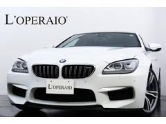 BMW M6グランクーペ 右H ブラックレザー カーボンインテリア