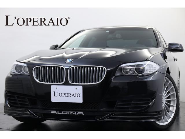 BMWアルピナ ビターボ リムジン 1オーナー Sルーフ シルバーデコライン