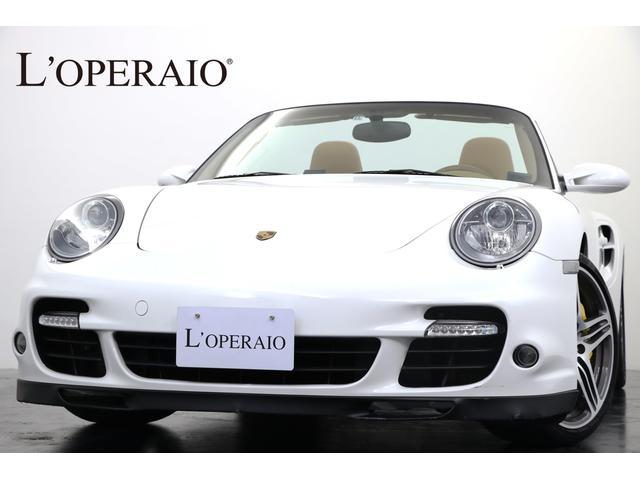 ポルシェ 911ターボ カブリオレ スポーツクロノPKG PCCB