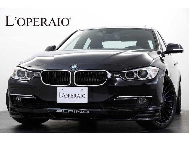 BMWアルピナ ビターボ リムジン サンルーフ 純正20インチブラックAW