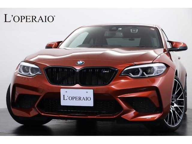 BMW コンペティション 1オナ 正規D車 新車保証継承 黒革シート