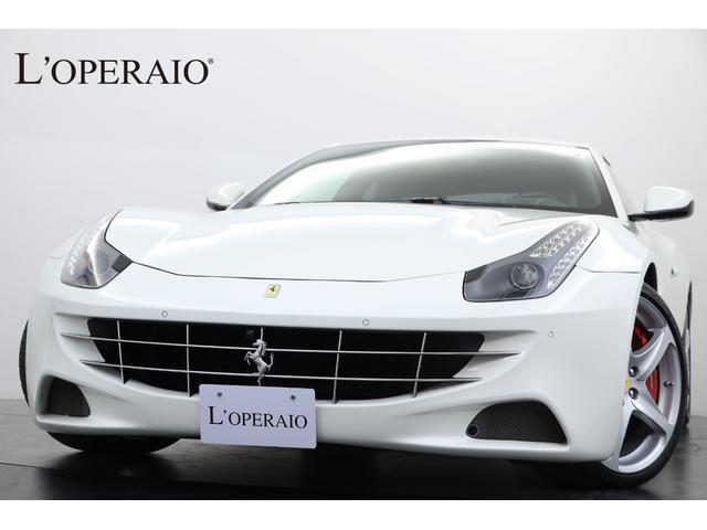 フェラーリ LEDカーボンステア 七宝焼 カーボンパドルシフト 正規D車