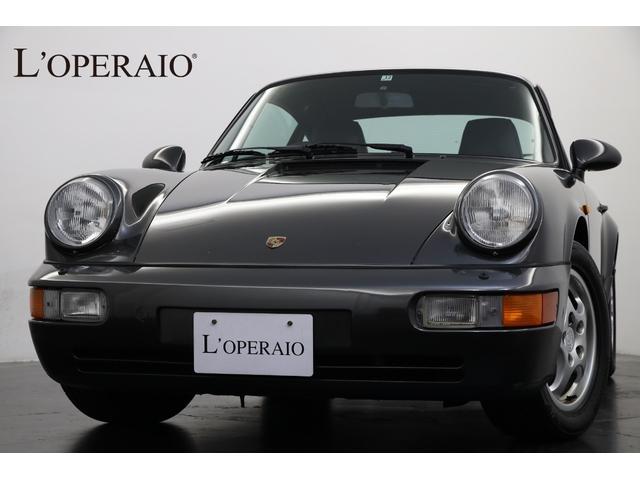 ポルシェ 911 911カレラ2 ティプトロニック4AT 正規ディーラー車 希少右ハンドル ブラックレザー