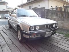 BMW320iカブリオーレ 幌張替え済 アイアンバンパー
