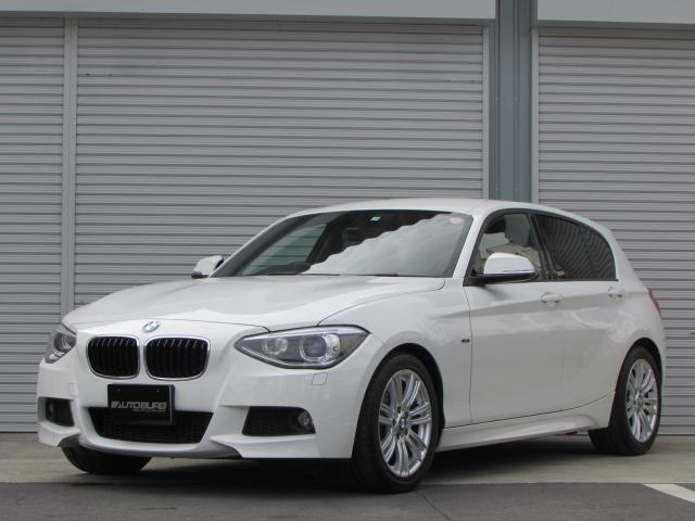 BMW 120i Mスポーツ Bカメ 赤レザー コンフォートアクセス