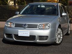 VW ゴルフR32 ディーラー記録11枚 天張り張替済 社外ダウンサス