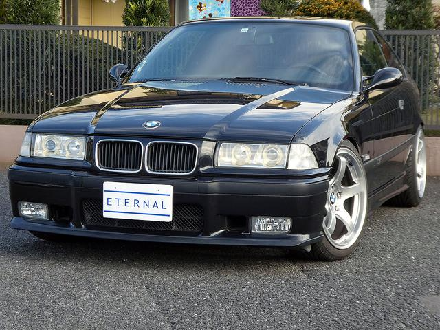 BMW M3クーペ 天張り張替済 SSマフラー車高調 18インチAW