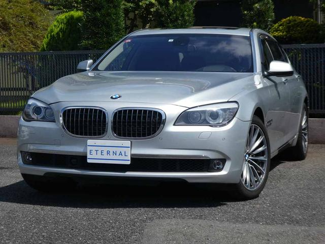 BMW 7シリーズ 760Li 全D整備記9枚 2オーナー フルセグ 追突警告