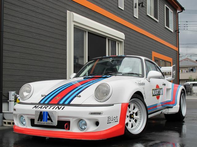 ポルシェ 911ターボ マルティニカラー フルチューン公認580PS