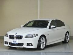 BMW523d Mスポーツ ユーザー様下取車両 Mスポ専用AW