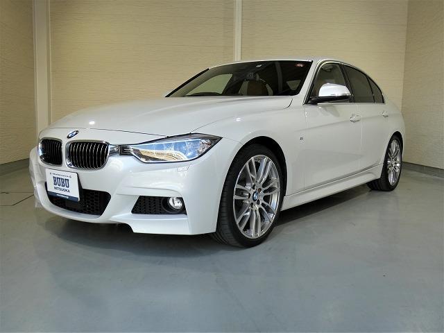 BMW 320d Mスポーツ ACCダコタ革OP19AWウッドパネル