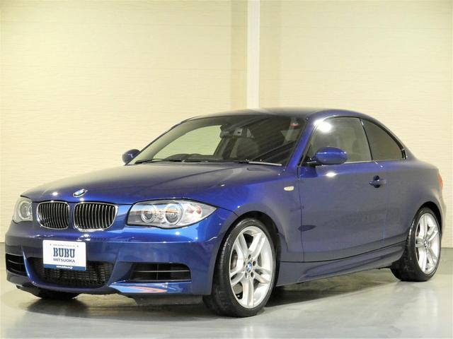 BMW 1シリーズ 135i 正規ディーラー車 ワンオーナー ブラックレザーシート シートヒーター メモリー機能付き電動シート 純正ナビゲーション ミラーETC キセノンヘッドライト 純正18インチAW キーレスキー