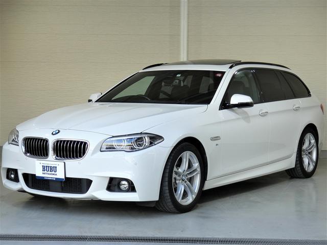 BMW 523iツーリング Mスポーツ 正規ディーラー車 純正ナビ&地デジTV 純正18インチアルミ バックカメラ パークアシスト オートクルーズコントロール オートホールド 全席シートヒーター レーンアシスト パワーテールゲート