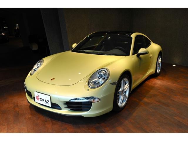 ポルシェ 911カレラ サンルーフ 外装色ライムゴールドメタリック