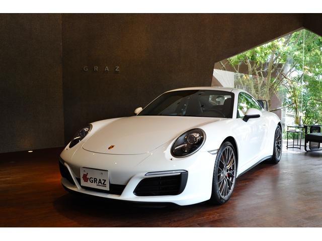 ポルシェ 911 911カレラ4S ディーラー車 左ハンドル RSスパイダーホイール スポーツクロノPKG