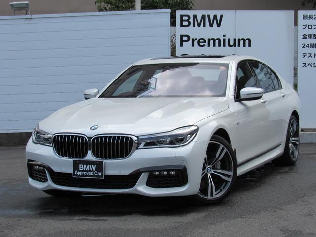 BMW 740i Mスポーツチルトアップサンルーフ全国1年保証