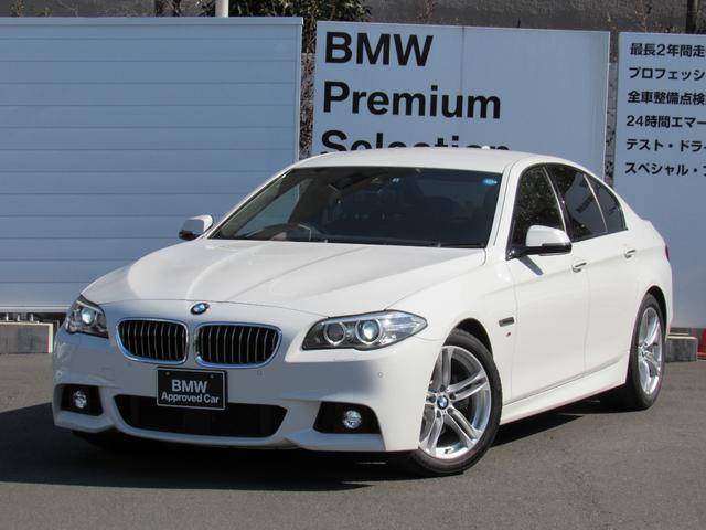 BMW 523d Mスポーツ地デジ全国1年保証付禁煙車 1オナ