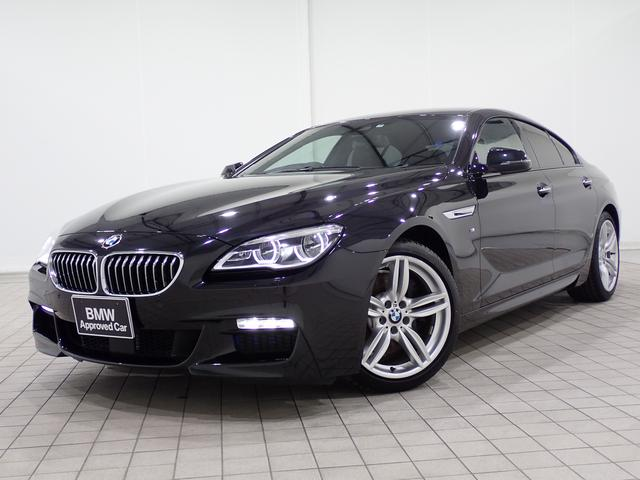 BMW 6シリーズ 640iグランクーペ Mスポーツ 黒レザー 全国1年保証き