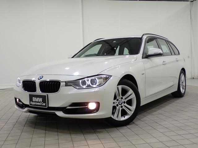 BMW 320iツーリング スポーツ 純正ナビ・バックカメラ・17AW・全国1年保証付き