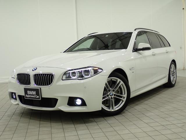BMW 523dツーリング Mスポーツ ハイラインパッケージ ファインウッドトリム ACC ブラックレザーシート・ヒーター 純正18インチアロイホイル