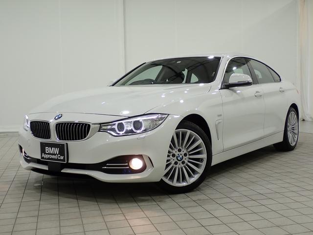 BMW 4シリーズ 420iグランクーペ ラグジュアリー ワンオーナー・18インチAW・ACC・ブラックレザー・全国1年保証付き