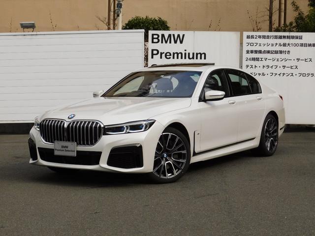 BMW 750i xDrive Mスポーツ 弊社デモカー・リモートパーキング・ディスプレイキー・コンフォートシート
