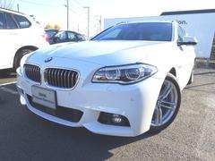 BMW523dツーリング Mスポーツ ブラックレザーシート ACC