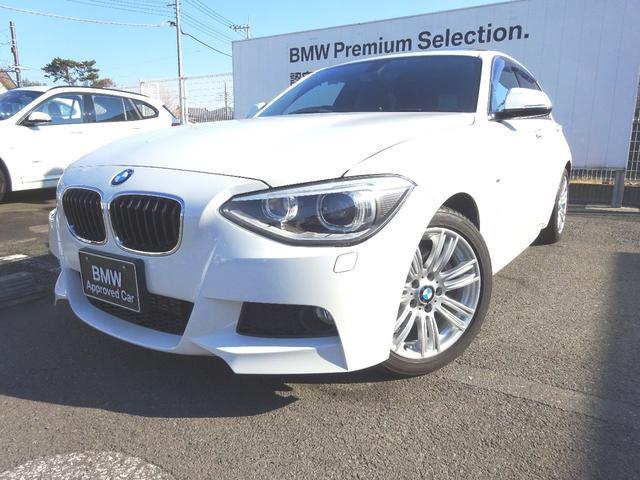 BMW 116i Mスポーツ ガラスサンルーフ HDDナビゲーション