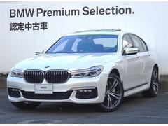 BMW750i Mスポーツ Dアシストプラス リモートパーキング