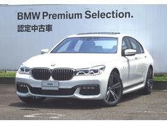 BMW740d xDrive Mスポーツ ブラックレザー GS/R