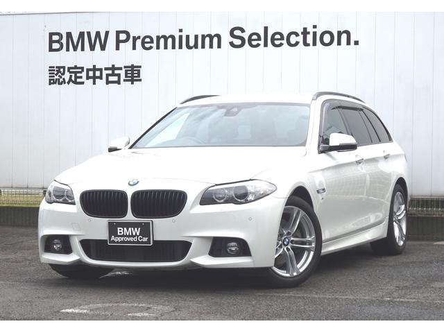 BMW 523iツーリング Mスポーツブラックレザーシート ACC