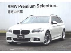 BMW523iツーリング Mスポーツブラックレザーシート ACC