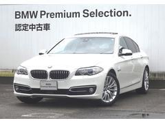 BMW523iラグジュアリー ブラックレザーシート アクティブCC