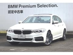 BMW523i Mスポーツ ガラスサンルーフ アイボリーレザー