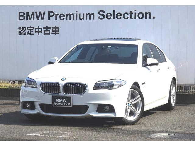 BMW 523i Mスポーツ ブラックレザーシート 地デジチューナー