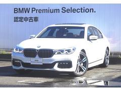 BMW740i Mスポーツ コニャックブラウンレザー Gサンルーフ