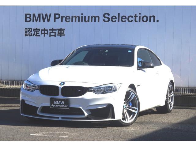BMW M4クーペ MDCTドライブロジック ブラックレザーシート