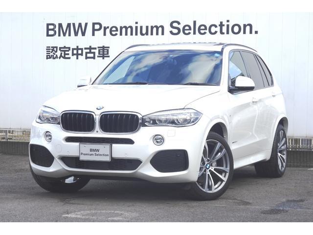 BMW xDrive 35d Mスポーツ ブラックレザー ガラスSR