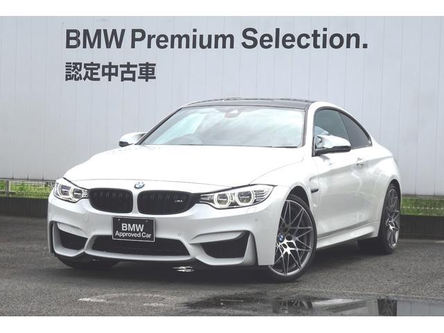 BMW M4クーペ コンペティション ブラックレザーシート 地デジ